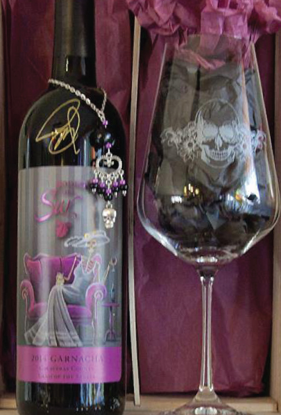 Dia de los Muertos special edition label only available during the Fall each year.